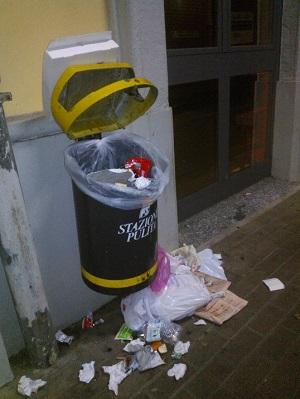 Stazione pulita...