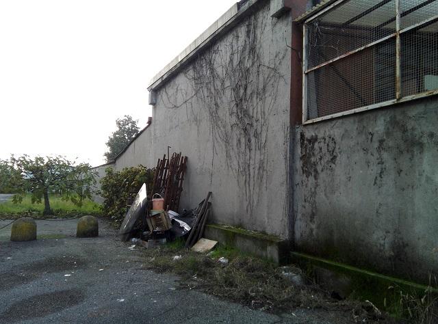 Rottami a Pianengo